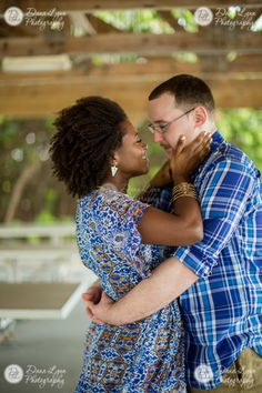 Engagement pictures  love naturalhair
