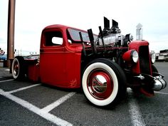 Hot Rod and tricked