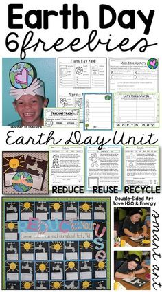 """A whole day full of rich literacy, math review, and writing focused on turning my students into """"Planet Protectors"""". #FREEBIES from #TeacherToTheCore /katiehappymom/"""