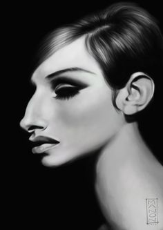 Barbra Streisand by *ArtByManon on deviantART
