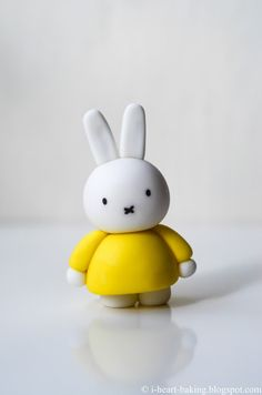 miffy first birthday cake with handmade fondant miffy topper