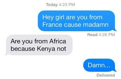 Funny Text Response 1 47 17 Savage Responses social Media that are Absolutely Funny Texts, Funny Jokes, Dad Jokes, Funny Pins, Funny Stuff, Random Stuff, Random Things, Funny Text Messages, Funny Cute