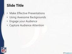 NFL American Football Internal Slide Design for PowerPoint