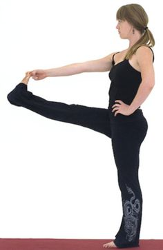 The Elusive Psoas Muscle and How to Stretch It: Standing Big Toe Pose - Utthita Hasta Padangusthasana