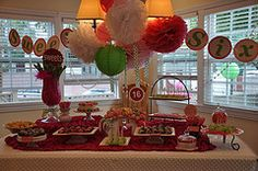 Sweet Sixteen Dessert table