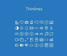 Thinlines – Free Icons