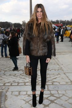 Bianca Brandolini attends the Valentino show as part of the Paris Fashion Week Womenswear Fall/Winter 2014-2015 on March 4, 2014