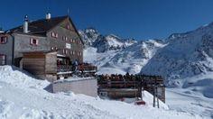 Rifugio Bellavista della Val Senales, foto del 22 febbraio 2012