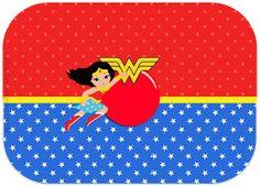 Wonder Woman Birthday, Wonder Woman Party, Wonder Woman Chibi, Superhero Party, Coreldraw, Paw Patrol, Party Printables, Birthday Parties, Amelia