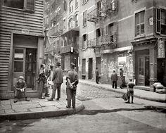 "NEW YORK CHINATOWN:  circa 1900. ""In Chinatown, Pell Street."" [Shorpy, detailed enlargement]]"