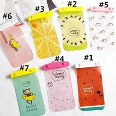 Keep your phone safe from water! Which do you need? tag your #bff Cartoon Safe Waterproof Phone Bag #SP166781 on spreepicky.com #summer #phonebag #bag #waterproof #cute #kawaii #cartoon #kawaiishop #cuteshop #kawaiistore by spreepicky