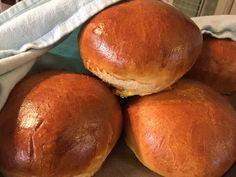 No Salt Recipes, Savoury Baking, Hamburger, Cooking, Easy, Food, Breads, Kitchen, Bread Rolls