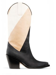 really like these--color block boots