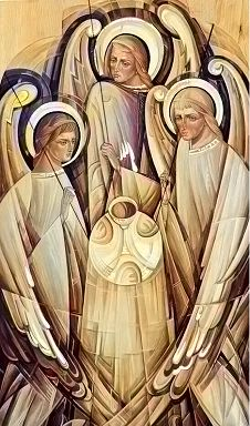 ángeles sacerdotes esucarísticos Religious Icons, Religious Art, Famous Freemasons, Religion Catolica, Guardian Angels, 2d Art, New Age, Deities, Catholic