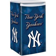 New York Yankees Under-the-Counter Fridge — Model# 3845