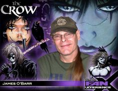 NEW GUEST ANNOUNCEMENT: Please welcome James O'Barr to Salt Lake Comic Con's #FanX. He's best known for creating #TheCrow, graphic novel turned classic  #cultmovie featuring #BrandonLee. It has sold more than 750,000 copies worldwide. Click to learn more.