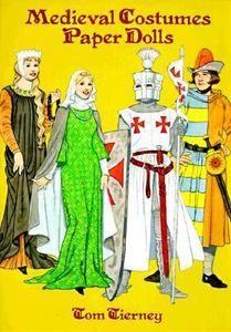 Medieval Paper Dolls Tom Tierney