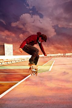 Red Cloud Skate, texture