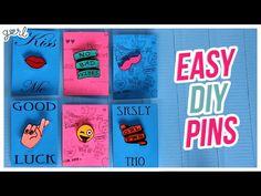 Easy DIY Pins Video Tutorial - Do It, Gurl | Gurl.com