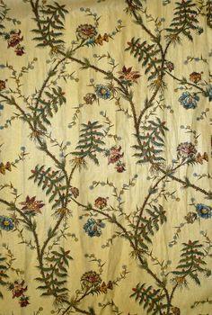 Gown (image 3)   England   1784-1787 (sewn)   silk, cotton, linen, whalebone   Victoria & Albert Royal Museum   Museum #: T.232-1969
