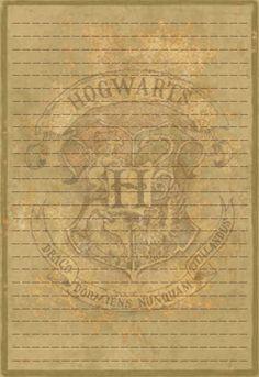Hogwarts Letterhead Stationery by Sinome-Rae on DeviantArt