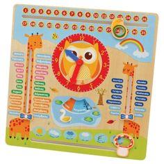Ξύλινο Ημερολόγιο εκμάθησης 19€ March 3rd, Toy Boxes, 9 And 10, Kids Room, Calendar, Learning, Frame, Gifts, Decorating
