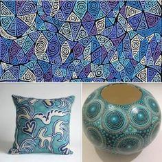 Blue Art at Tali Gallery