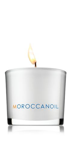 CANDLE - I am a little obsessed with the scent of Moroccanoil - I want these all over the house!