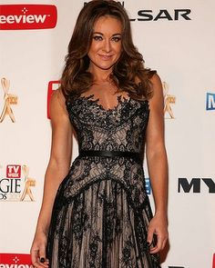 2013 Logies Red Carpet- like the dress, not the wearer ;-)