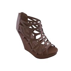 BLANCHO High Heel Sandal Womens TAN US7 ** Continue to the product at the image link.