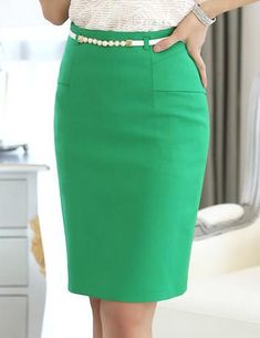 High waist fashion work bust skirts fashionable work outfit ideas for fall winter 2020 Pencil Dress Outfit, Pencil Skirt Casual, Pencil Skirt Outfits, Denim Pencil Skirt, High Waisted Pencil Skirt, Pencil Skirts, Pencil Dresses, Denim Skirt, Fitted Skirt