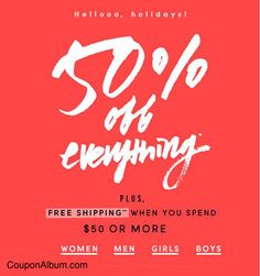 J.Crew Black Friday Offer: 50% Off Everything!