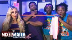 The Princess of Stanton Island joins The New Day in taking some advice from their WWE Mixed Match Challenge charity KaBOOM! and creating moments of play in e. The New Day Wwe, Watch V, Mix Match, Challenges, Take That, In This Moment, Baseball Cards, Charity