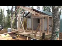The Tent Addition! Time for a little more room. - YouTube