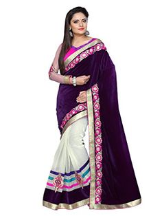 Shoppingover Indian Bollywood Party wear Saree with Blous... https://www.amazon.com/dp/B01N0XDJ9S/ref=cm_sw_r_pi_dp_x_vUkCyb7N5AE87