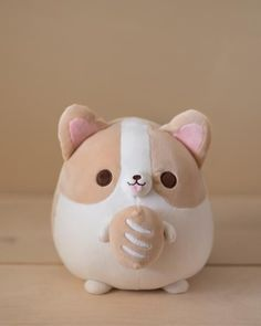 Cute Stuffed Animals, Cute Animals, Sock Animals, Kawaii Room, Cute Pillows, Cute Plush, Cute Toys, Plush Dolls, Plushies