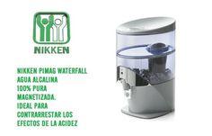 Pimag waterfall: Agua Pimag, agua purificada, agua alcalina, agua buena para la salud.
