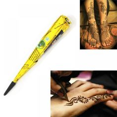 Cheap indian henna paste, Buy Quality body paint directly from China paint for body Suppliers: Indian Henna Paste Cone Beauty Women Mehndi Finger Body Cream Paint DIY Temporary Drawing for Tattoo Stencil Arm Tattoos, Temporary Tattoos, Finger Tattoos, Finger Painting, Diy Painting, Body Makeup, Beauty Makeup, Beauty Tips, Mehndi Fingers