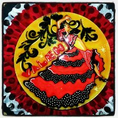 Spanish Flamenco Dancer Gelatin Spain