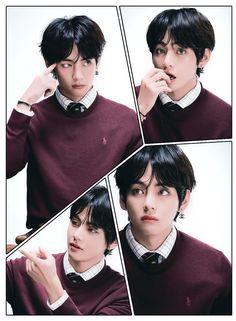 Kim Namjoon, Kim Taehyung, Bts Bangtan Boy, Foto Bts, Daegu, K Pop, Hearly Quinn, Dibujos Tumblr A Color, V Bts Wallpaper