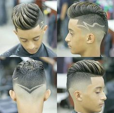 This is Awesome! Got this from Go check em Out Check Out for 57 Ways to Build a Strong Barber Clientele! Cool Hairstyles For Men, Hairstyles Haircuts, Haircuts For Men, Men Hair Color, Brown Hair Colors, Hair And Beard Styles, Curly Hair Styles, Haircut Designs, Hair Tattoos