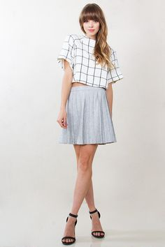 Grid Co-ord Top