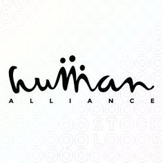 Human Alliance logo For me, the other letters feel unbalanced but I love the 'm'