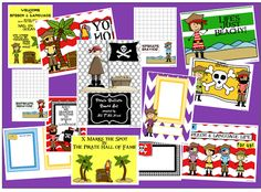All Y'all Need: Pirate Speech/Language Bulletin Boards