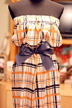 Auburn Plaid Gameday Dress...WANT!