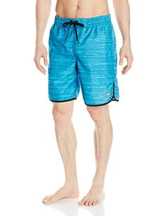 Introducing adidas Mens Heather Volley Swim Trunk Turquoise Large. Great product and follow us for more updates!