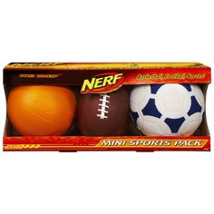 Nerf Pro Shop Mini Sports Pack * Click image for more details.Note:It is affiliate link to Amazon.