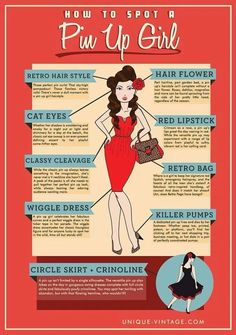 How to spot a pin-up girl