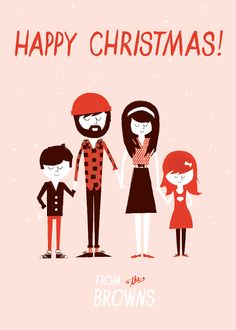 ellothere, customized Christmas cards