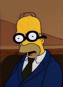 Homer is sleeping with glasses in a jury Simpsons Simpsons, Simpsons Quotes, Homer Simpson Meme, Bart Simpson, Cartoon Memes, Cartoon Shows, Simpson Wave, Good Cartoons, Futurama